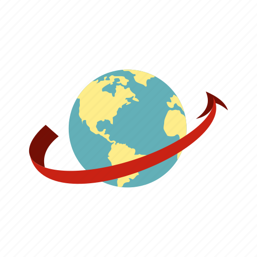 destination, earth, globe, map, plane, transportation, travel icon