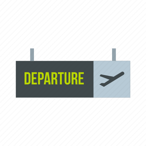 airport, departure, direction, fly, information, transportation, travel icon