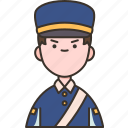 security, guard, officer, safety, airport