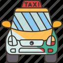 taxi, cap, transportation, service, public