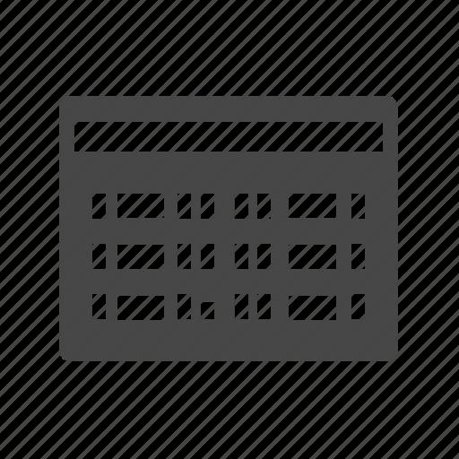 airport, scoreboard icon