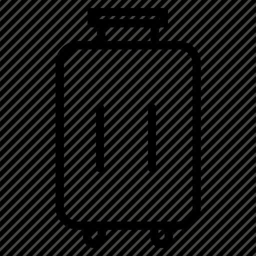 airport, baggage, box icon