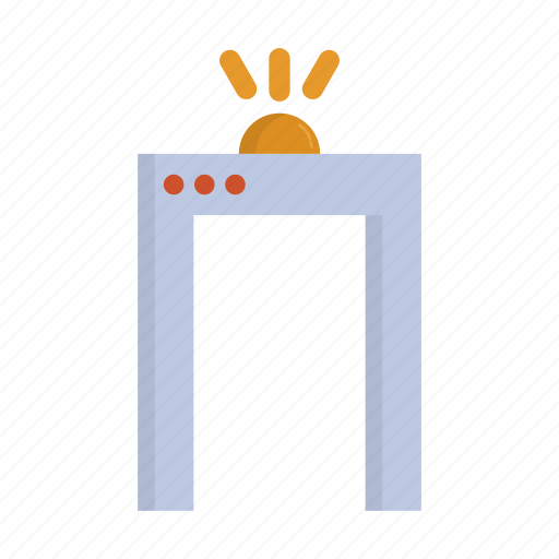 airport, portal, protection, safety, secure, security icon