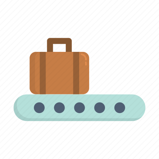 airplane, airport, baggage, drop, tourism, travel icon