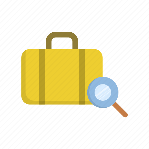 check, luggage, tourism, travel, vacation icon