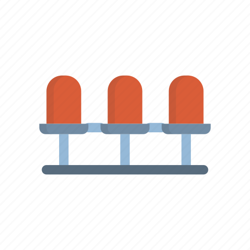 airport, chair, furniture, room, waiting icon