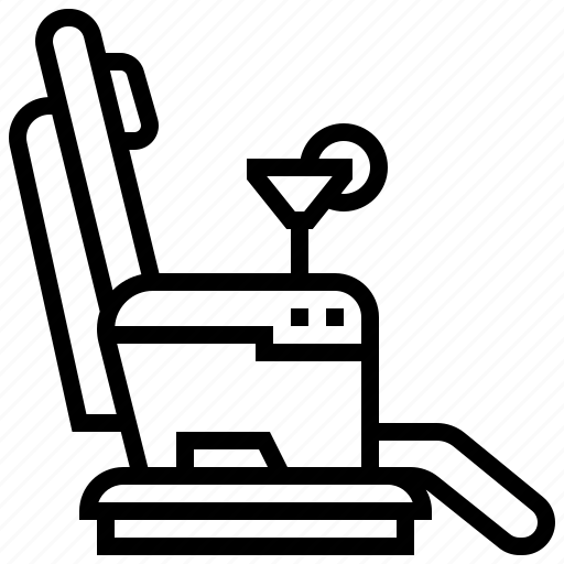airline, airport, business, chair, class, transportation icon