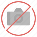 allow, forbidden, no, photo, prohibition icon