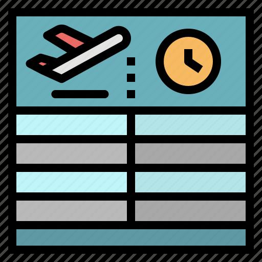 airport, arrival, departure, flight, information icon