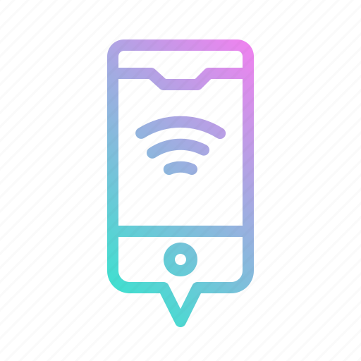 internet, mobile, phone, wifi, wireless icon