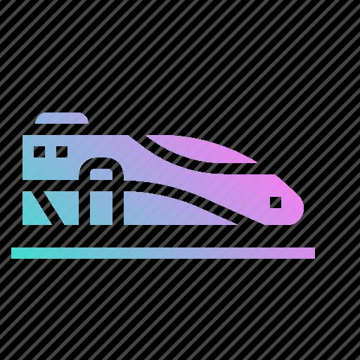 railway, speed, subway, train, transport icon