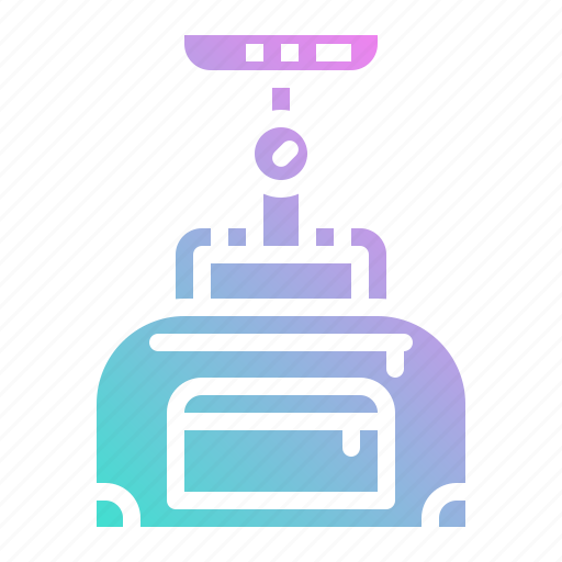 digital, handhel, luggage, scale, weight, weighter icon