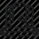 baggage, belt, carousel, claim, luggage icon