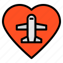 airplane, airport, love, plane, transportation, travel