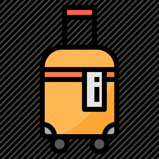 airplane, airport, bag, plane, transportation, travel icon