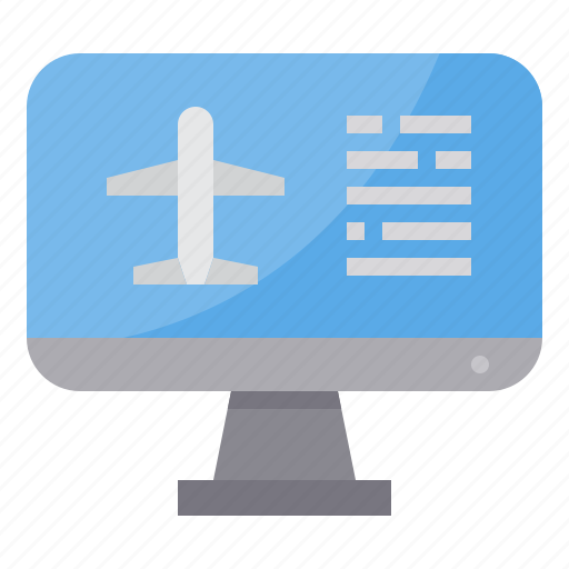 airplane, airport, booking, plane, transportation, travel icon