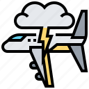 airplane, airport, lighting, transport, transportation icon