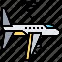 airplane, plane, transport, transportation, wifi icon