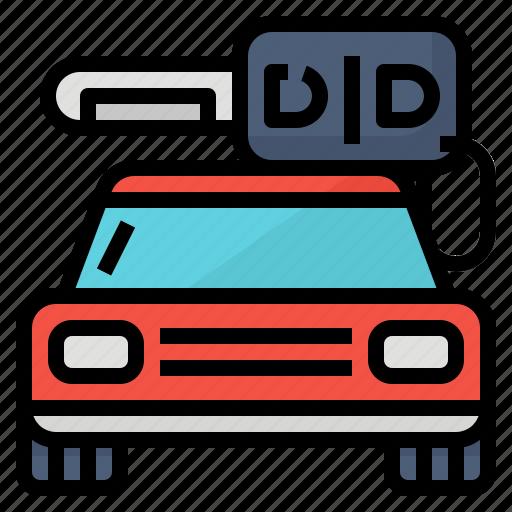 car, key, rental, transport icon