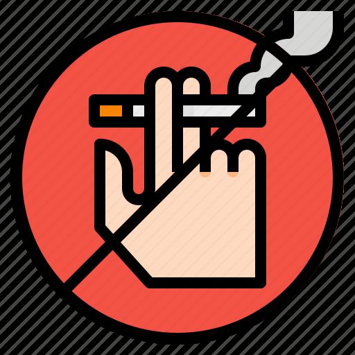 cigarettes, no, sign, smoking icon