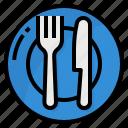dish, fork, restaurants, spoon