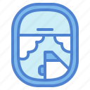 airplane, plane, travel, window icon