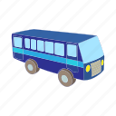 bus, cartoon, transport, transportation, travel, vehicle icon