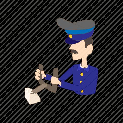 Aircraft, airplane, captain, cartoon, pilot, travel, uniform icon - Download on Iconfinder