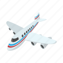 airplane, airport, cartoon, flight, plane, transport, travel icon