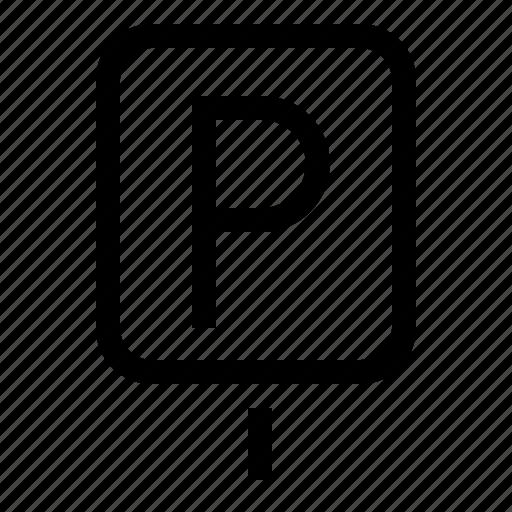 Car Park Lot Parking Sign Icon Download On Iconfinder