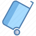 basket, box, cart, empty, shopping, trolley