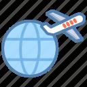earth, global, global travel, globe, network, travel, world icon