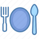 delivery, fork, meal, menu, restaurant, spoon icon