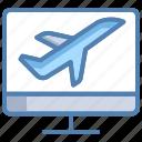 air, air ticket, air ticket booking, booking, flight ticket, ticket, ticket booking icon