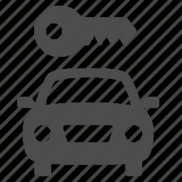 car, key, rent, rent a car, rent-a-car, vehicle icon