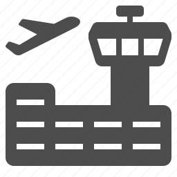 air traffic control, airport, control tower, flight, flying, plane icon