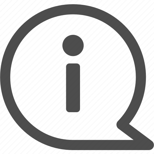 about, info, information, reception icon