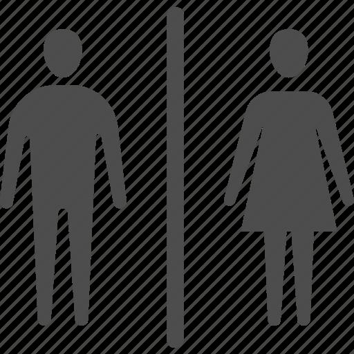 bathroom, restroom, toilet, wc icon