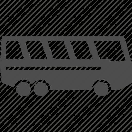 bus, shuttle, tour, transport icon