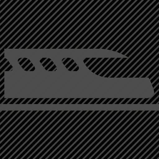 ktx, railway, rapid, shinkansen, speed, train icon