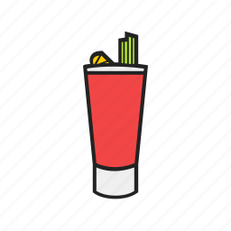 bloody, mary icon