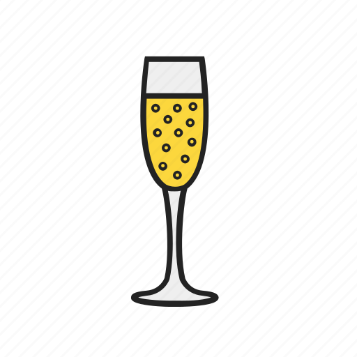 alcohol, champagne, drink, glass, magnifier icon