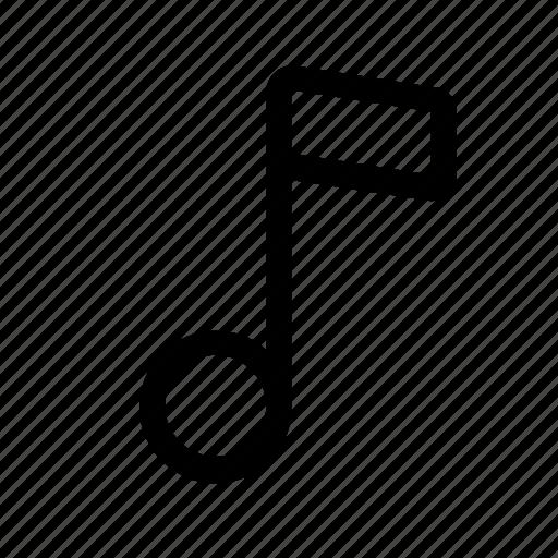 audio, music, note, player, sound, speaker icon