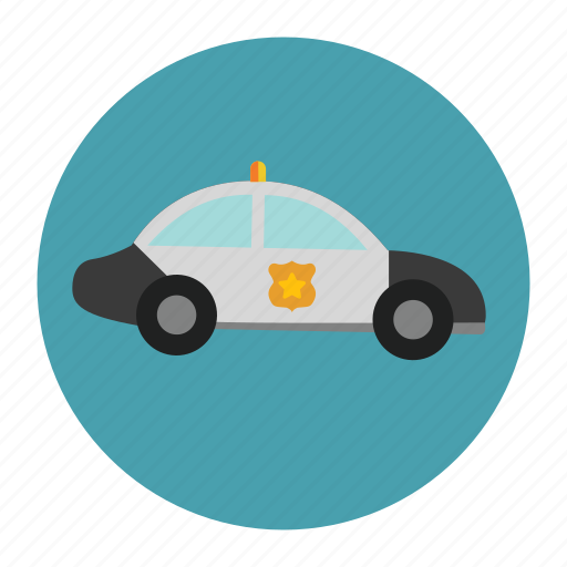 car, police, transportation, vehicle icon