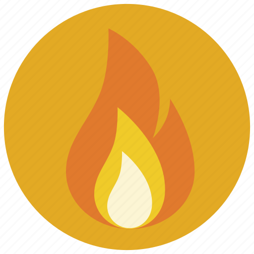 burn, danger, fire, flame icon
