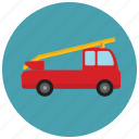 fire, transportation, truck, vehicle