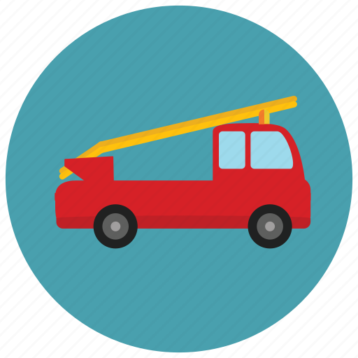 fire, transportation, truck, vehicle icon