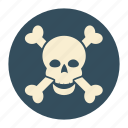alert, lethal, poison, virus icon