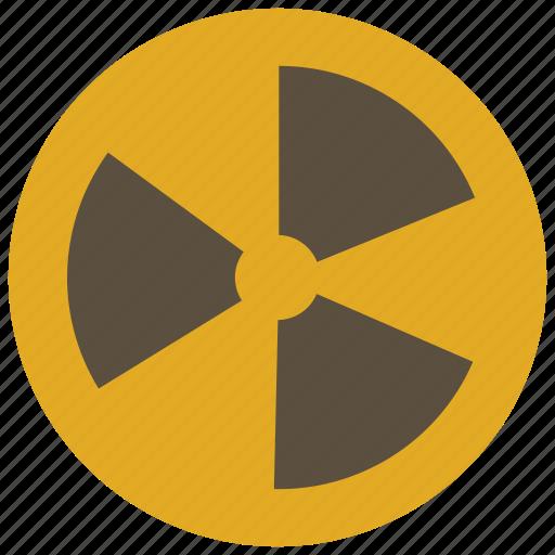 alert, danger, nuclear, virus icon