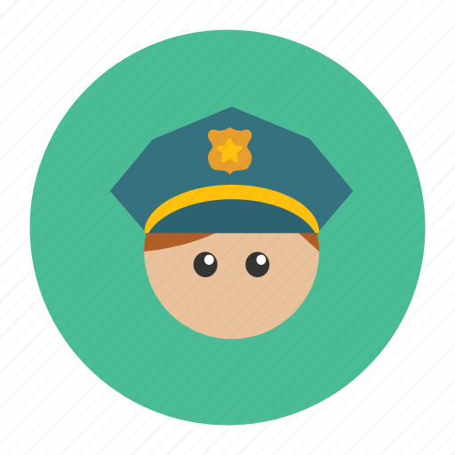 enforcement, law, officer, police icon